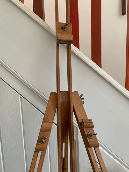 French Wooden Telescopic Easel