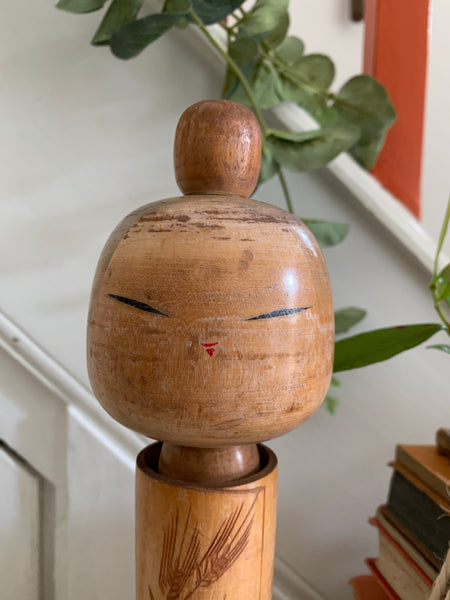 Medium Vintage Japanese Kokeshi Doll