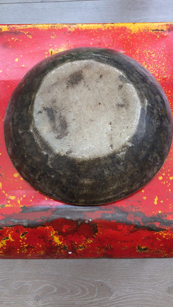 Antique Indian Marble Bowl - 1