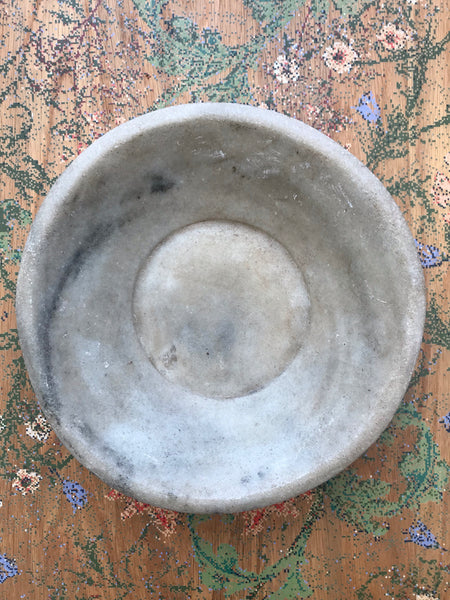 Antique Marble Bowl 2