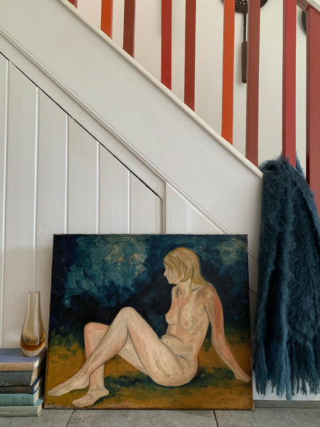 Original Nude - Oil on Canvas