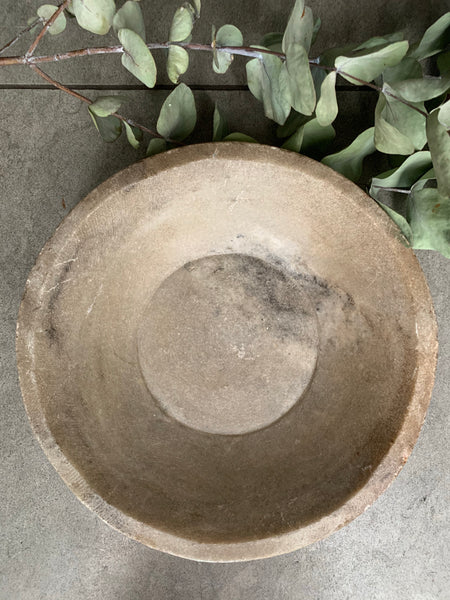 Antique Marble Stone  Bowl 6