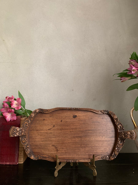 Hand-carved Decorative Tray
