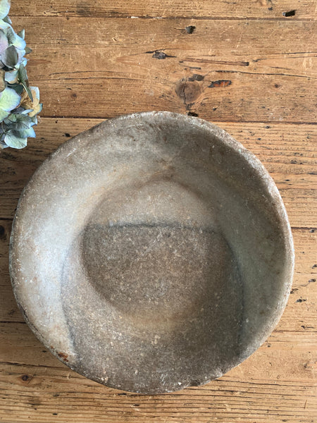 Antique Marble Bowl 3