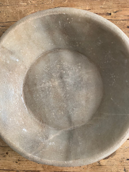 Antique Marble Stone Bowl 1