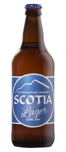 Scotia Lager - 4.0% ABV