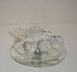 Crystal Grape Revolving For Home Decoration - 010