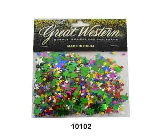 Star shaped confetti - 10102