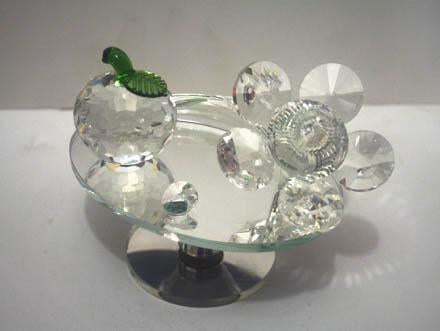 Crystal Fruit & Flower For Home Decoration - 10231