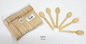 Wood Spoon Big 100Pcs- 10473 By The Gift Village South Africa