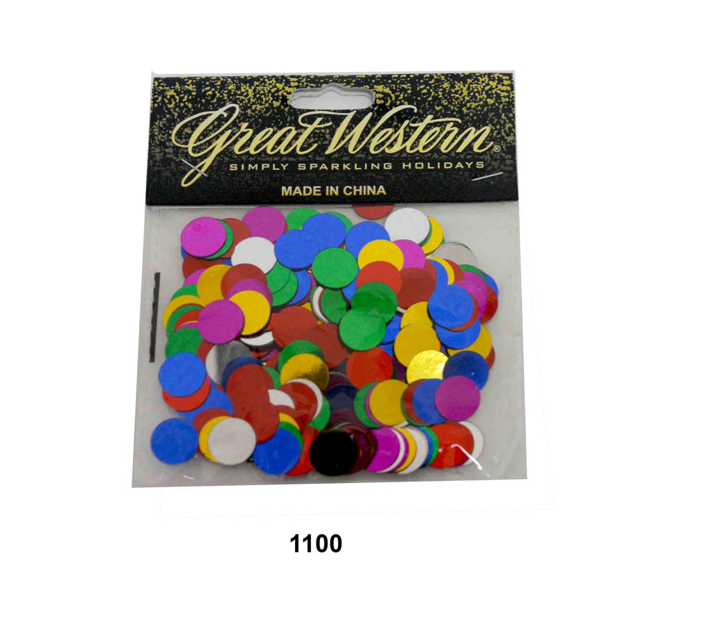 Dots-Mini circle confetti - 1100