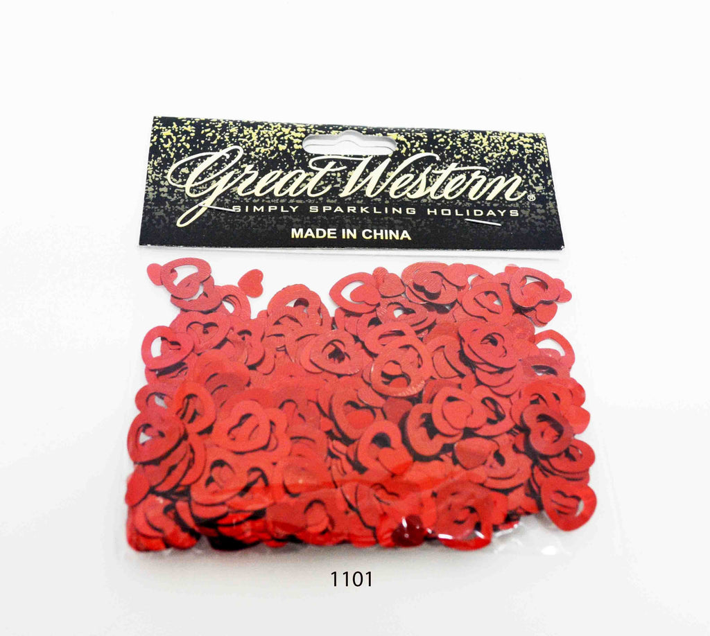 Valentine Hearts shaped confetti - 1101