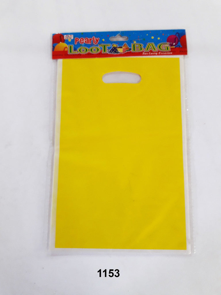 Loot Bag Design: Plain Yellow The Gift Village Collection