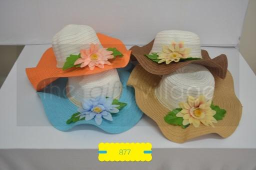 Ladies hats Design B - 879-75 By The Gift Village South Africa