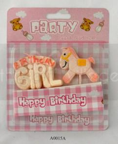 Happy Birthday Girl With Horse