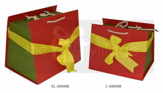 Gift Box: Red & Green Five-piece set Purse style- A0048B