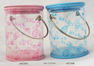 Blue Buckets for boys  Buckets: 12 pcs/pack   Item number: A0220B