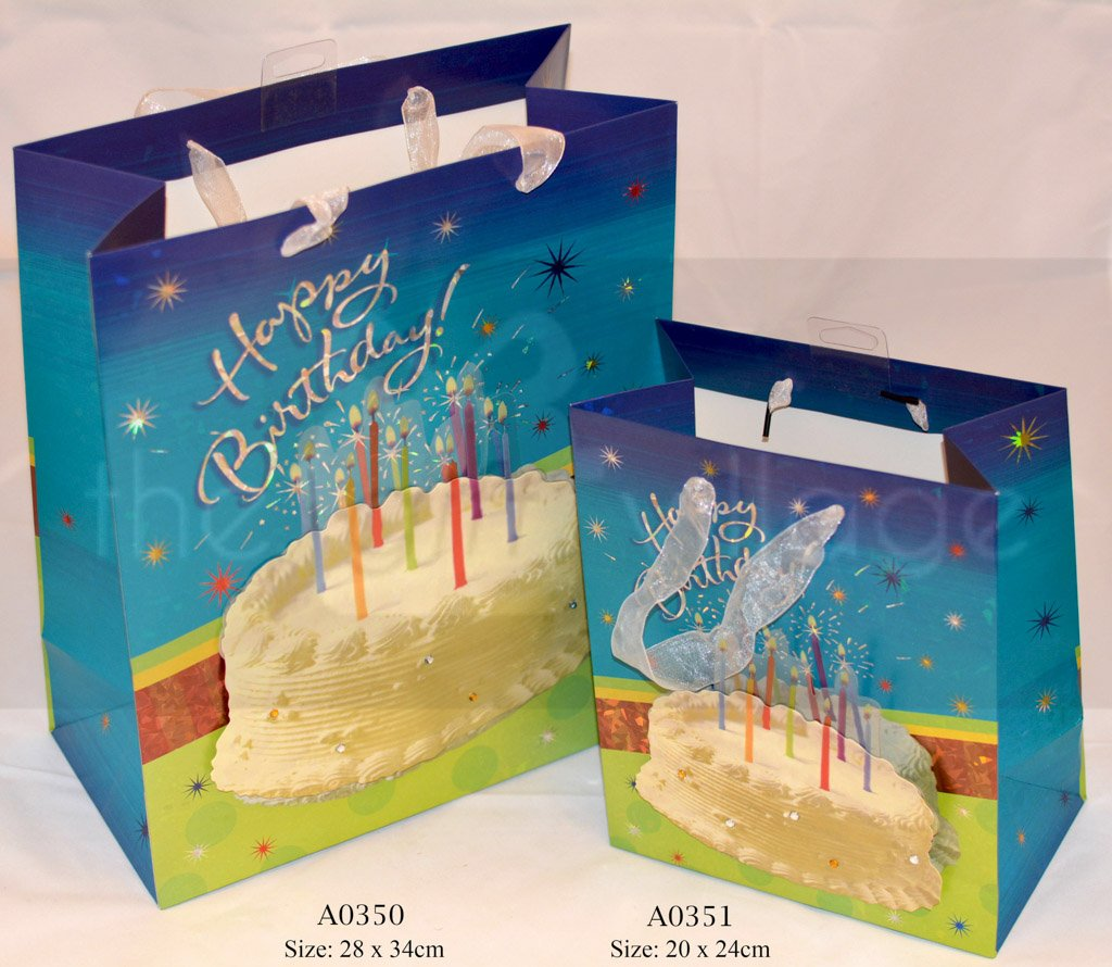 Spring Cake Medium: DBlue Gift Bags Collection By The Gift Village South Africa