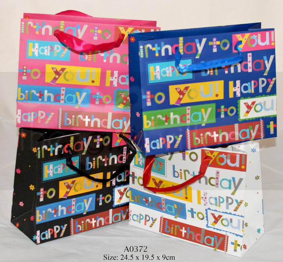 Small Birthday Giftbags Gift Bags Collection By The Gift Village South Africa