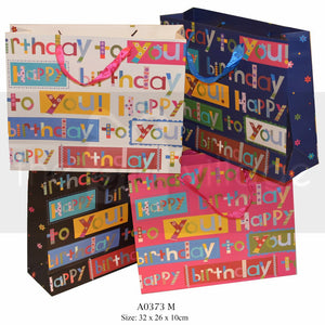 Medium Birthday Giftbags Gift Bags Collection By The Gift Village South Africa