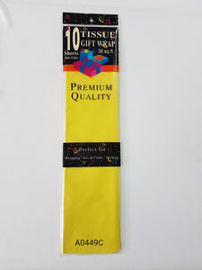 Tissue Paper: Dark Yellow