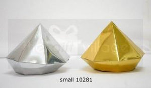 Triangle Prism Silver (small 5pc/pack)- 10281S