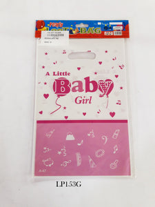Loot Bag Baby Girl Design - LP153G The Gift Village Collection