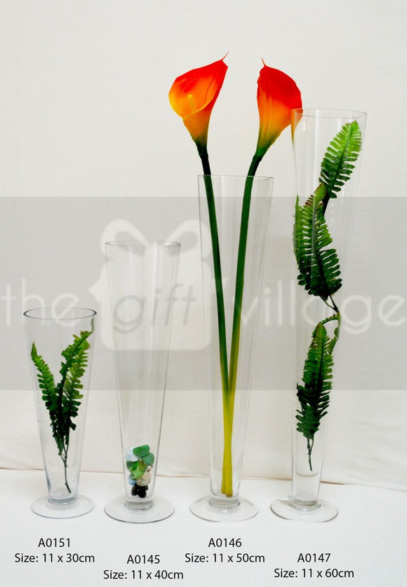 Collection Vase Cone - A0151 By The Gift Village South Africa