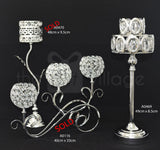 Centerpiece For Decoration in Silver : Height 39cm - A0469ss