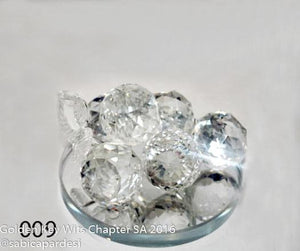 Crystal Grapes For Home Decoration - 009