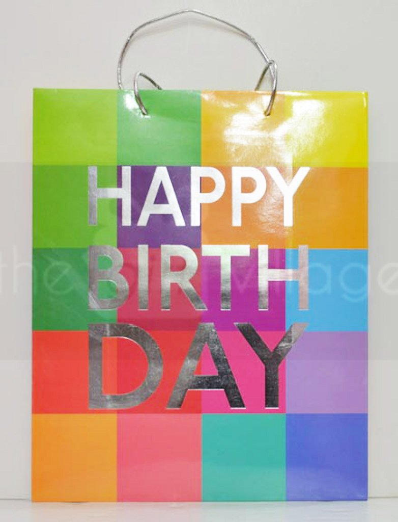 Gift Bag: Birthday 32x26cm Gift Bags Collection By The Gift Village South Africa