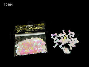 """wedding couple"" shaped confetti - 10104"