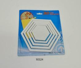 Hexagon Wall Art - 10324 From The Gift Village South Africa