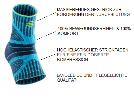 Bauerfeind Sports Ankle Support DYNAMIC Sprunggelenkbandage