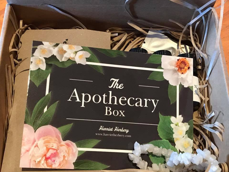 The Apothecary Box - July Contents Reveal