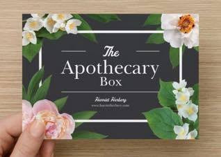 The Apothecary Box - Christmas 2018 - SPECIAL EDITION - Harriet Herbery