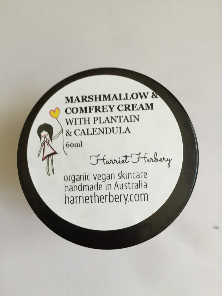 Marshmallow & Comfrey Herbal Cream - Harriet Herbery