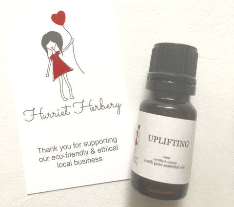 Uplifting 100% Pure Essential Oil Blend 10ml - Harriet Herbery
