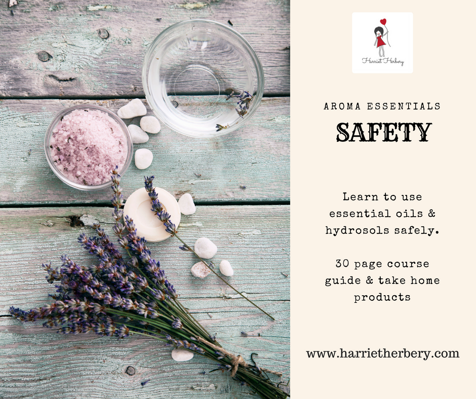 Aroma Essentials - Blending essential oils workshop - Harriet Herbery