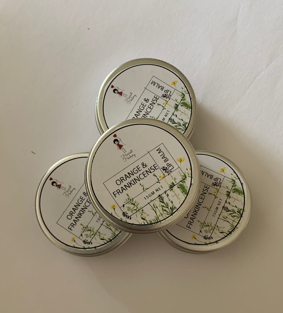 Lip Balm - Orange & Frankincense - Harriet Herbery