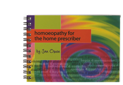 Owen Homoeopathics Homoeopathy for Home Prescriber Booklet - Harriet Herbery
