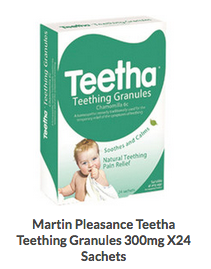 Teetha - Teeting Granules - Harriet Herbery