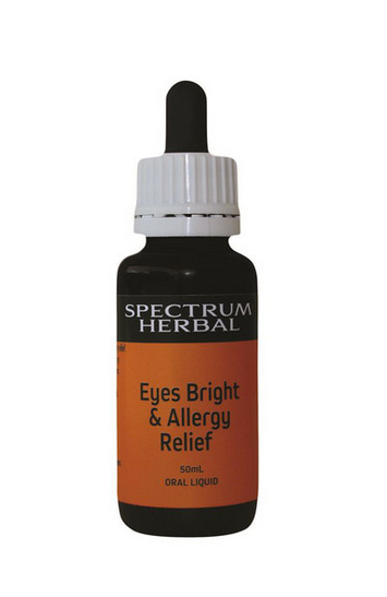 Spectrum Herbal - Eyes Bright and Allergy Relief 50ml - Harriet Herbery