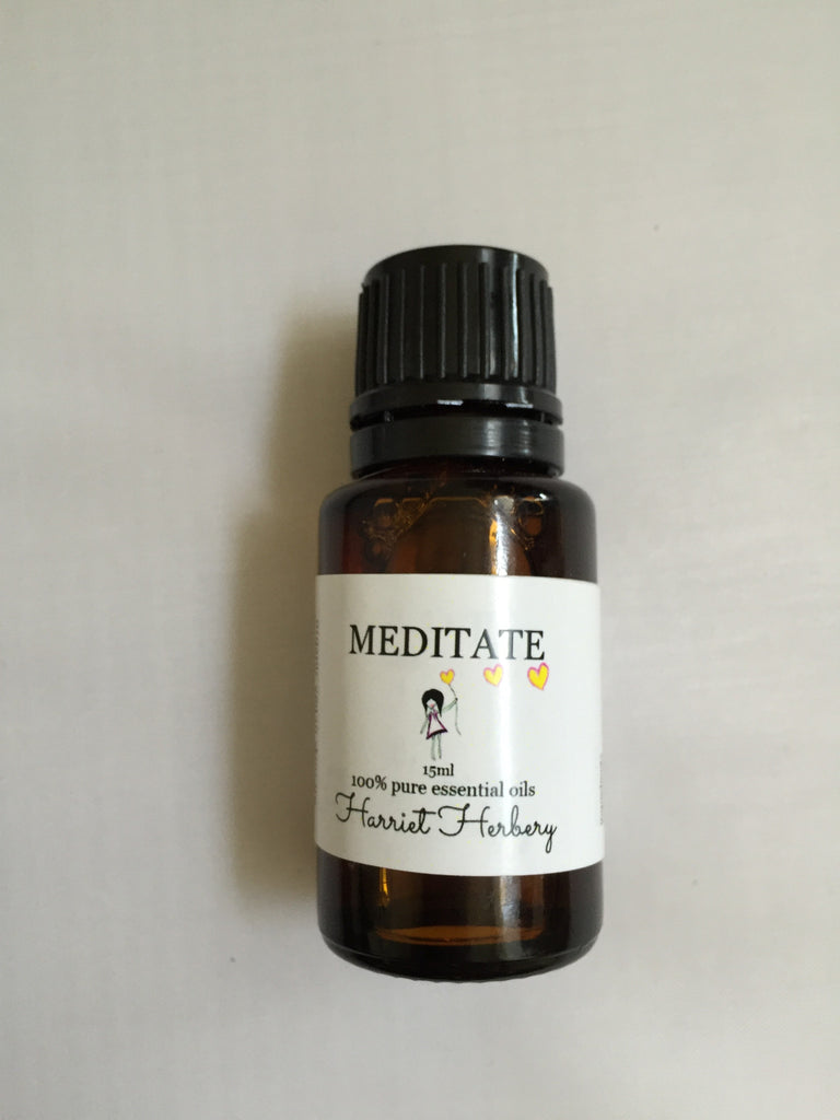 Meditate - 100% Pure Essential Oil Blend - Harriet Herbery