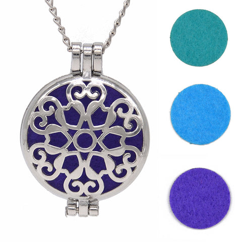 Aromatherapy Pendant - Diffuser Necklace - Harriet Herbery