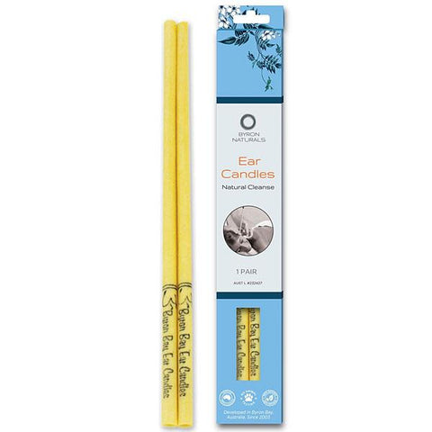 Byron Naturals Ear Candles - 1 Pair