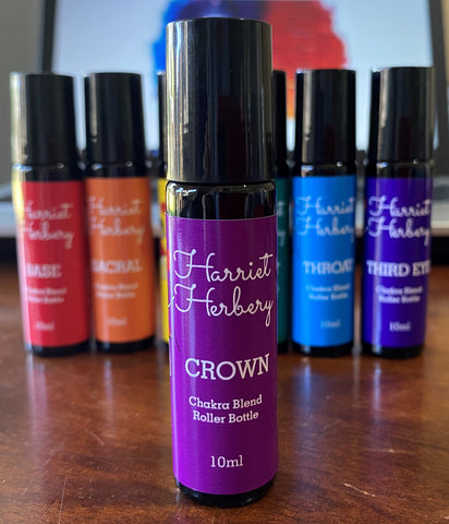 Chakra Roller Bottle 10ml - Crown