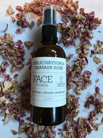 Helichrysum & Rose Facial Toner - Harriet Herbery