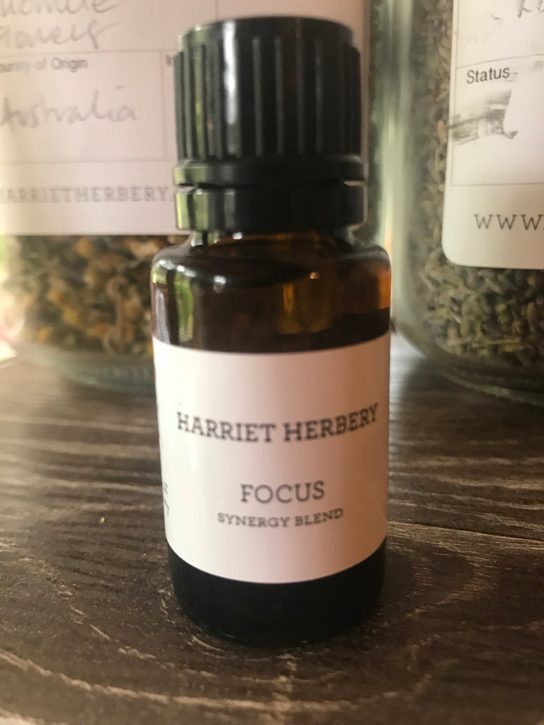 Focus - Aromatherapy Synergy Blend 15ml - Harriet Herbery