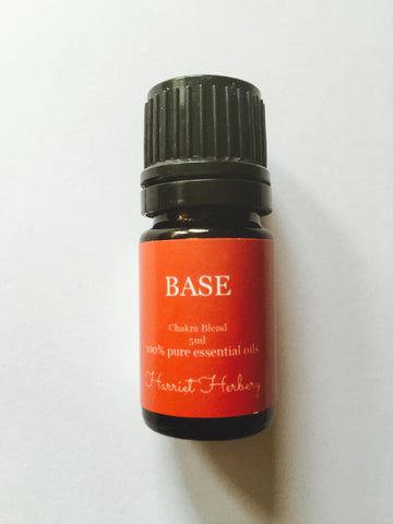 Chakra oil - Base - Harriet Herbery